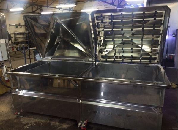 Wassertransferdruck Tank / Washer Kombo 180 cm