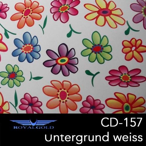 Wassertransferdruck BLUMEN MUSTER CD 157