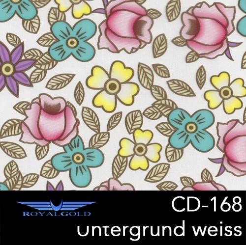 Wassertransferdruck BLUMEN MUSTER CD 168