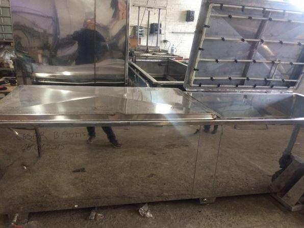 Wassertransferdruck Tank / Washer Kombo 100 cm
