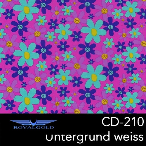 Wassertransferdruck BLUMEN MUSTER CD 210