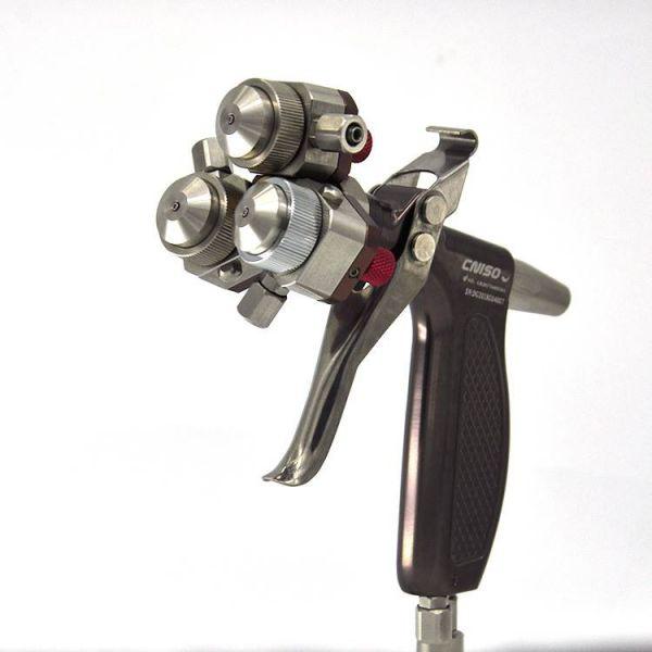 Verspiegelungstechnik Pistole - CLC 3 Kopf
