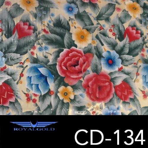 Wassertransferdruck BLUMEN MUSTER CD 134