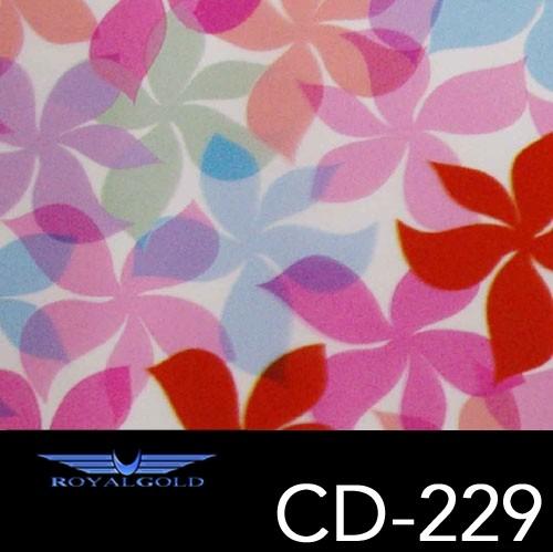 Wassertransferdruck BLUMEN MUSTER CD 229