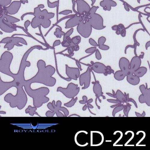 Wassertransferdruck BLUMEN MUSTER CD 222
