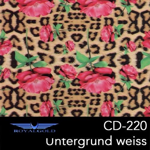 Wassertransferdruck BLUMEN MUSTER CD 220