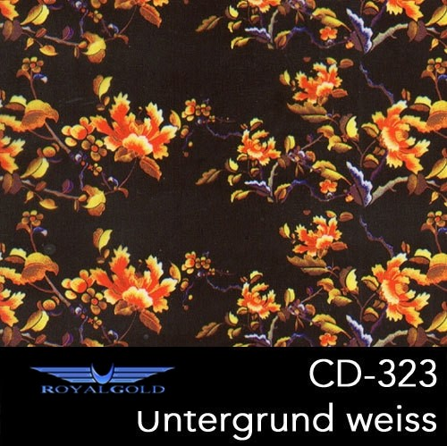 Wassertransferdruck BLUMEN MUSTER CD 323