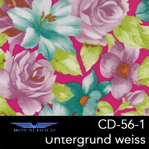 Wassertransferdruck BLUMEN MUSTER CD 56-1