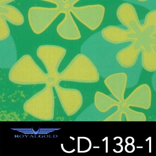Wassertransferdruck BLUMEN MUSTER CD 138-1