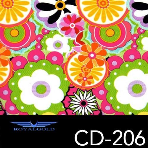 Wassertransferdruck BLUMEN MUSTER CD 206