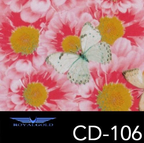 Wassertransferdruck BLUMEN MUSTER CD 106
