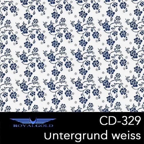 Wassertransferdruck BLUMEN MUSTER CD 329