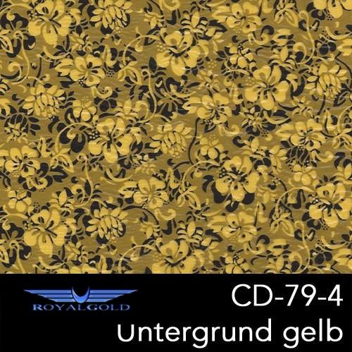 Wassertransferdruck BLUMEN MUSTER CD 79-4