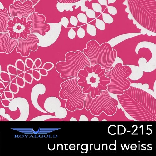 Wassertransferdruck BLUMEN MUSTER CD 215